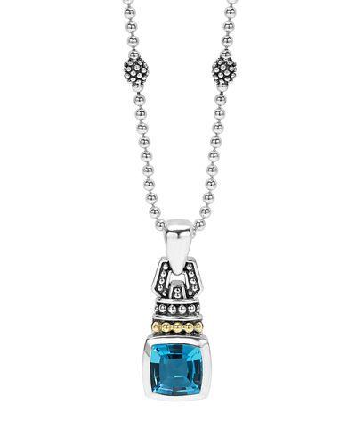 7mm Caviar Color Pendant Necklace