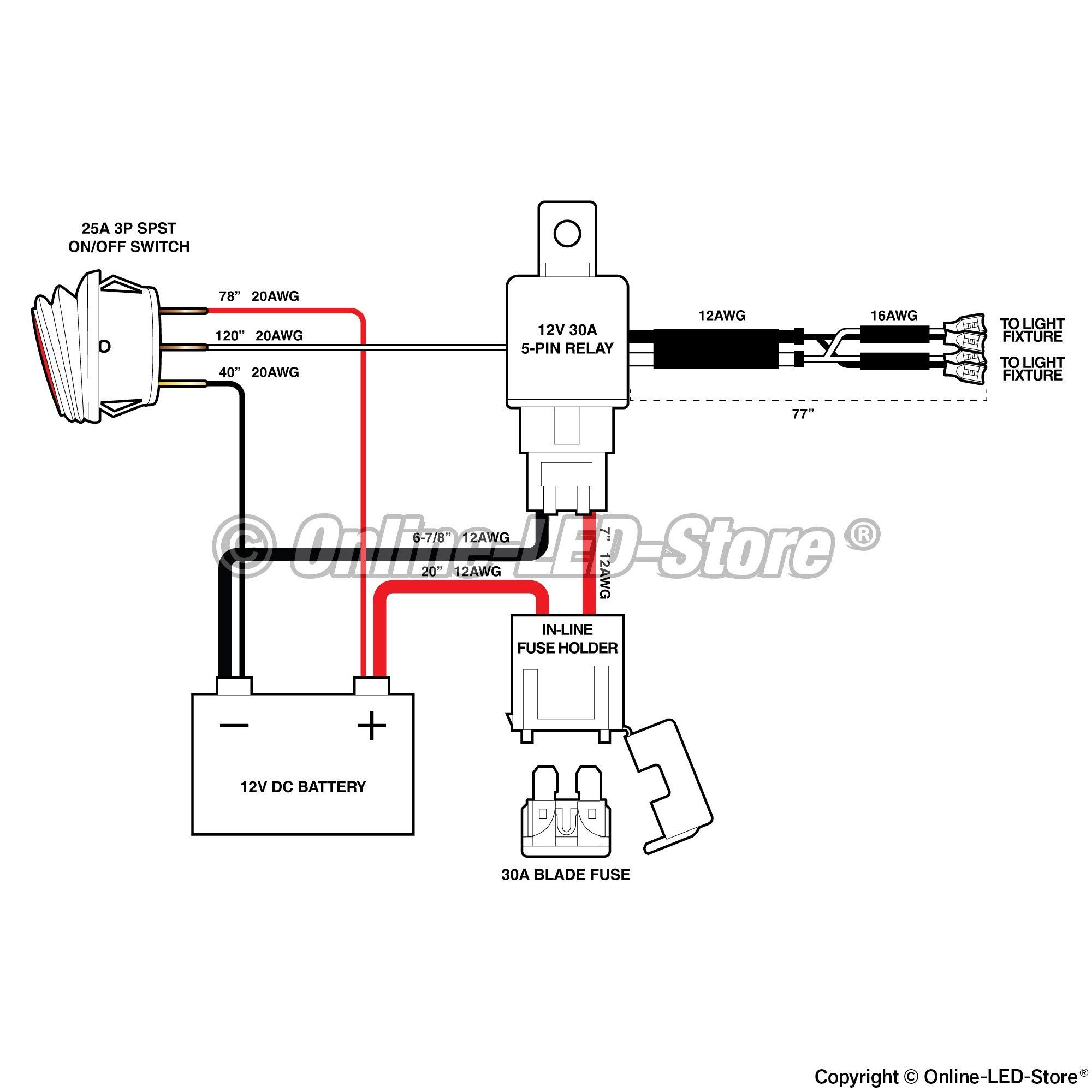 12v 30 Amp Relay Wiring Diagram Volovetsfo
