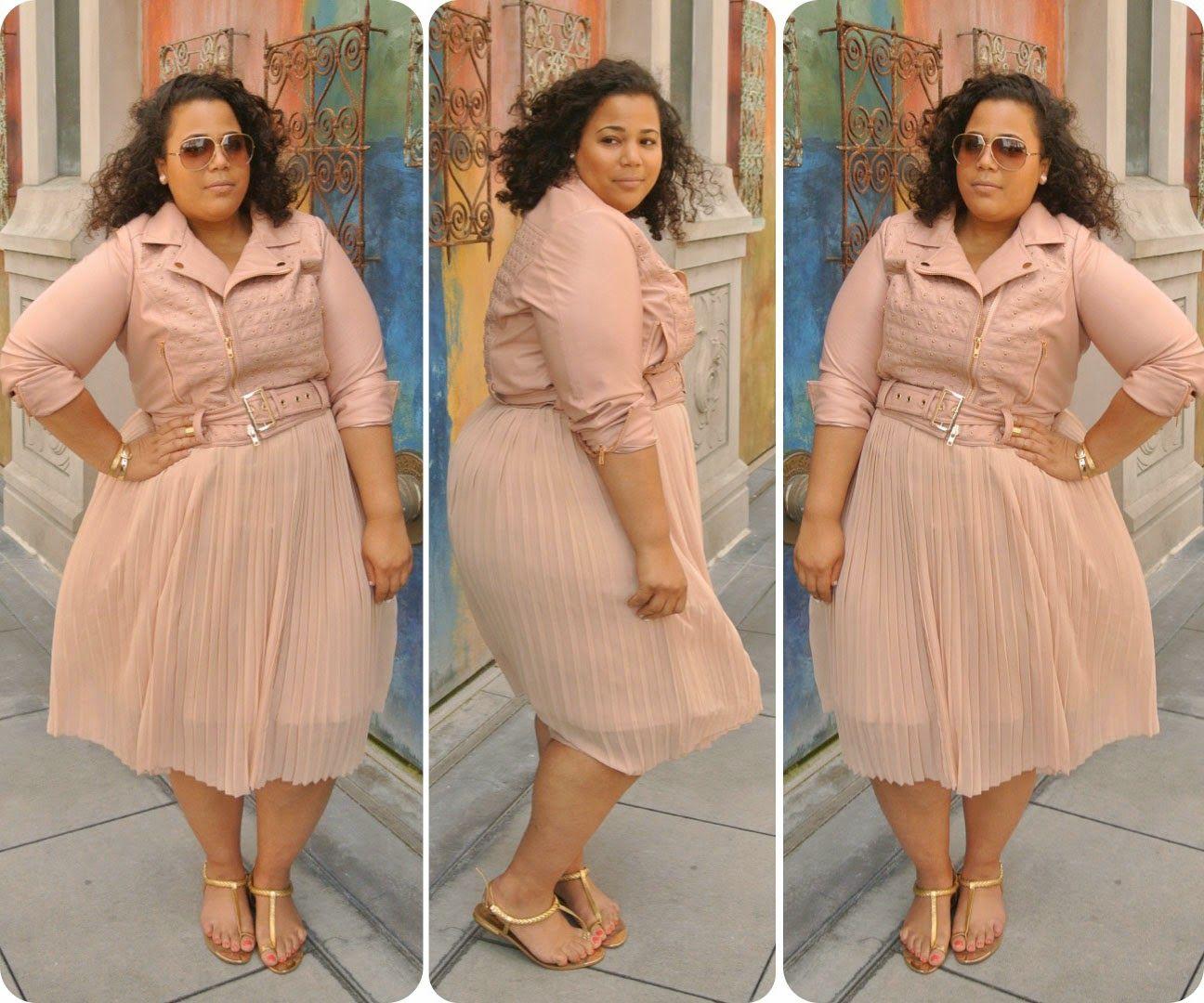 BLOG UPDATE: Blushing Blush Outfit, Plus Size Blush Outfit,