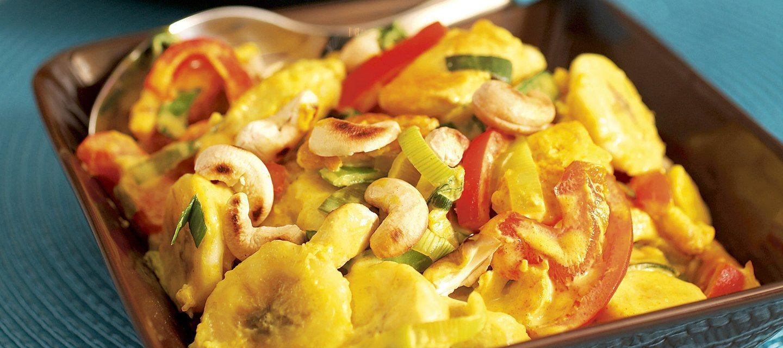 Curry-banaanibroileri
