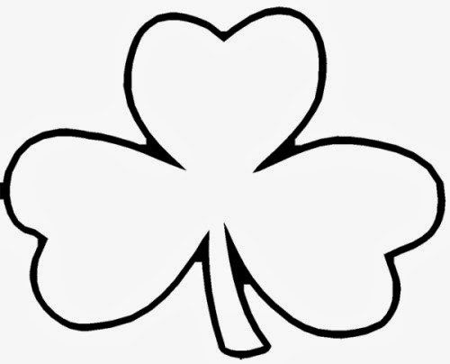 Printable Shamrock Coloring Pages Related Shamrock Coloring Pages