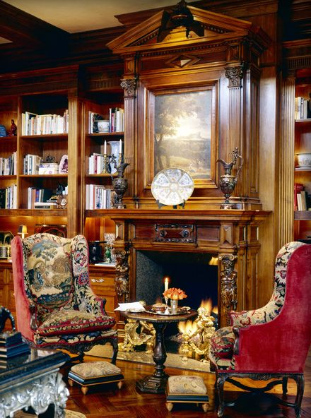 Classic Home Library Design: Library - Indian Wells