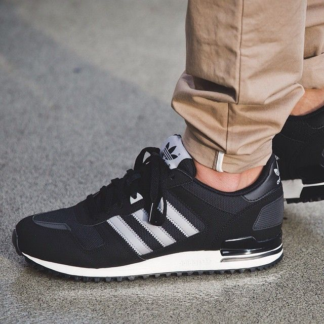 new styles 1bca2 97bb2 adidas ZX 700 (black   grey) - 43einhalb Sneaker Store Fulda   Men Clothing  in 2019   Pinterest   Adidas zx 700, Adidas sneakers and Adidas ZX