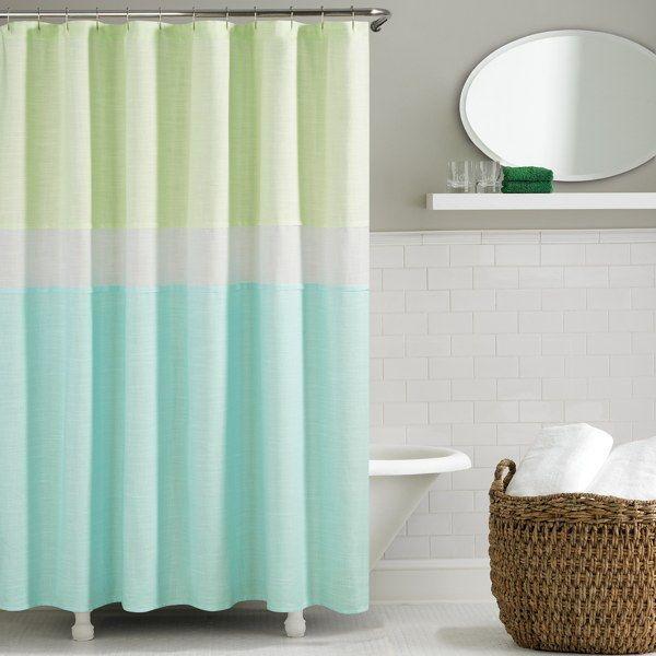 kate spade Spring Street Shower Curtain - Aqua - B…   Home Is Where ...