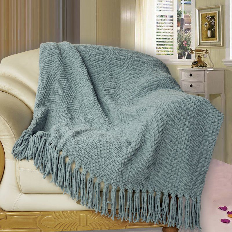 Nader Tweed Knitted Design Throw In 2020 Couch Covers Cotton