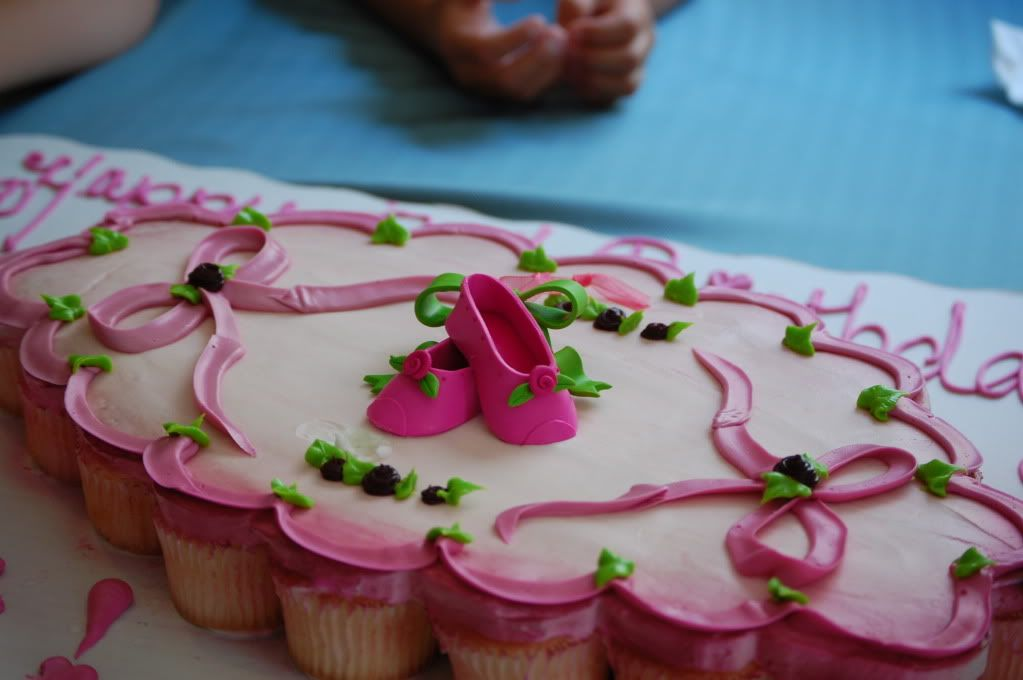 Swell The Darling Ballerina Birthday Cake Was Prepared By The Walmart Birthday Cards Printable Inklcafe Filternl