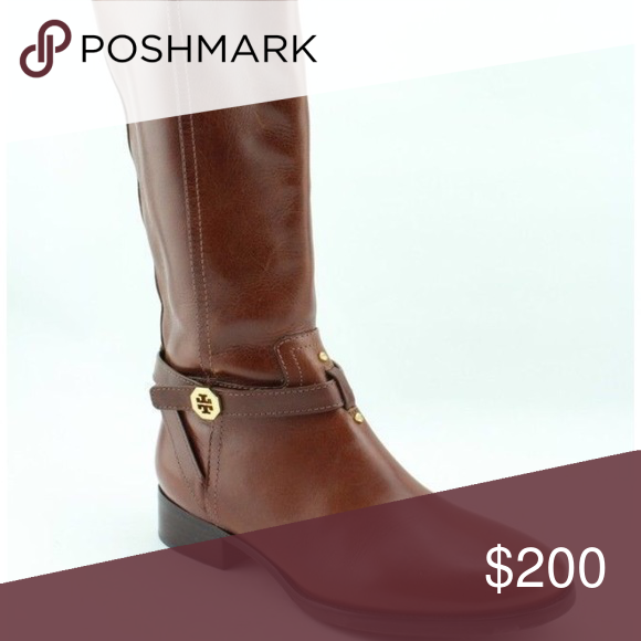c49a138b7455 Tory burch cognac riding boots