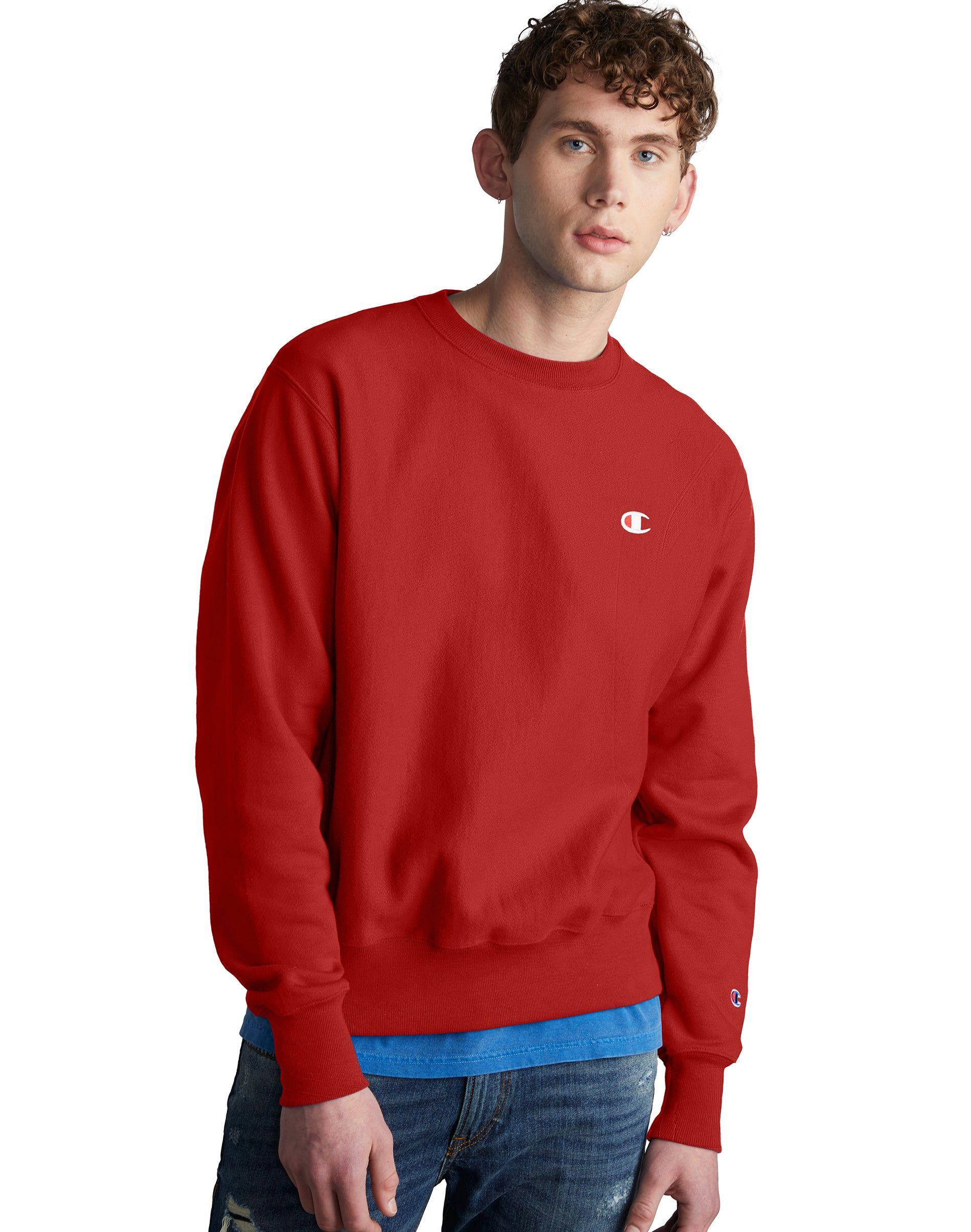 Champion Life Men S Reverse Weave Sweatshirt Champion Com Sweatshirts Mens Sweatshirts Hoodie Champion [ 2410 x 1900 Pixel ]