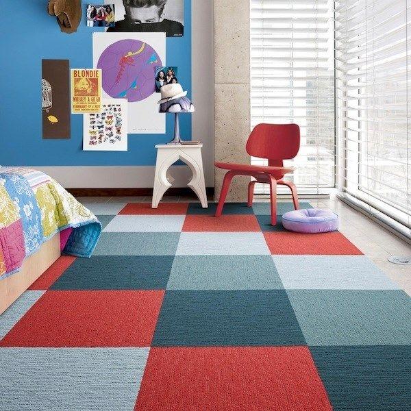 Flor Carpet Tiles Bring Modular Flooring Home Office