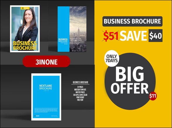 Business Brochure Bundle brochure templates free tri fold brochure - business pamphlet templates free