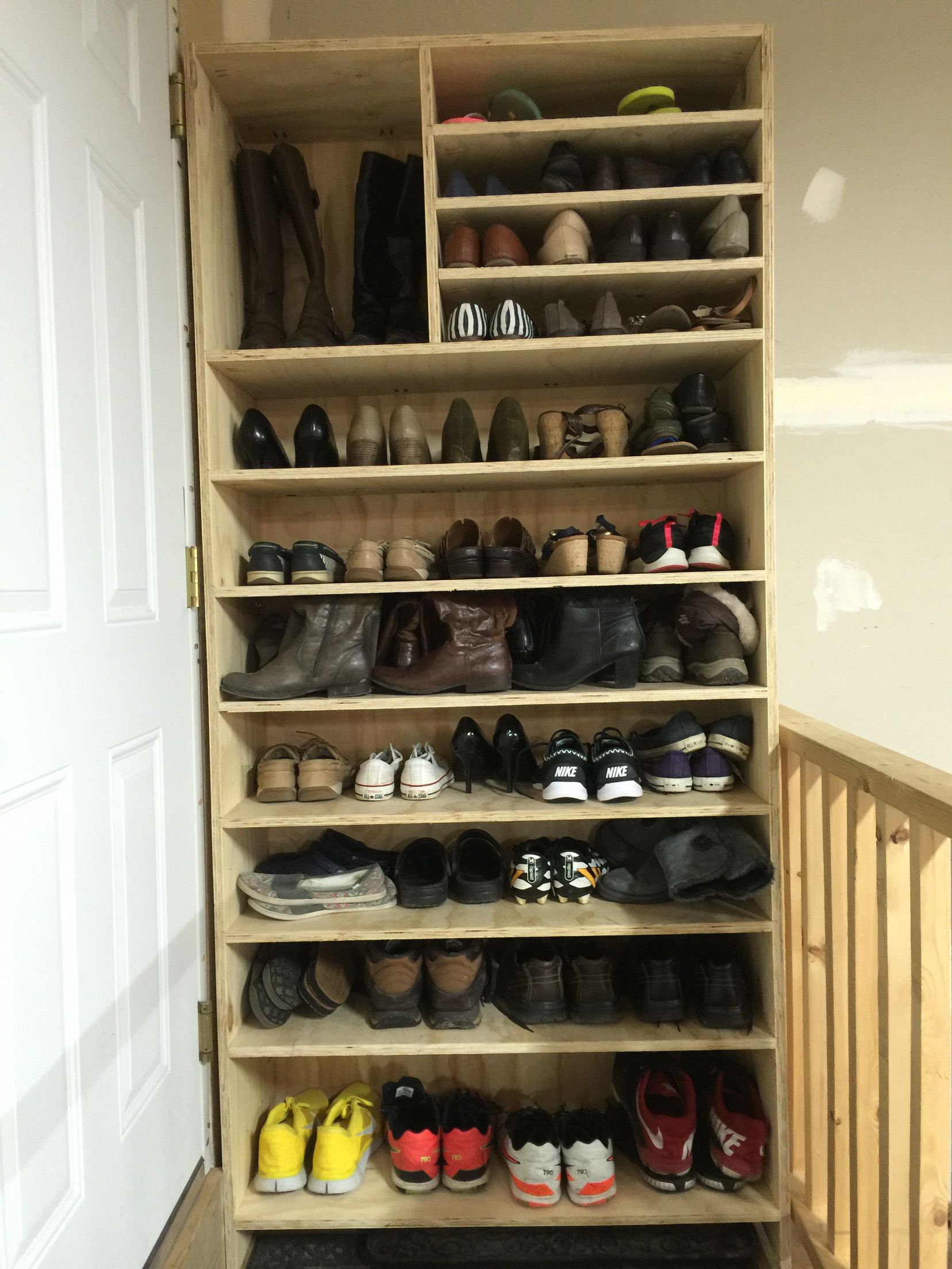 Some shoe organization isn't always a bad thing.