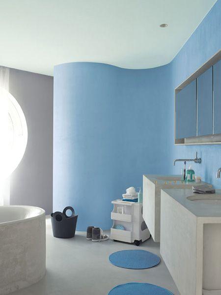 Paredes Pintadas De Azul Claro Buscar Con Google Home Decor - Paredes-pintadas-de-azul