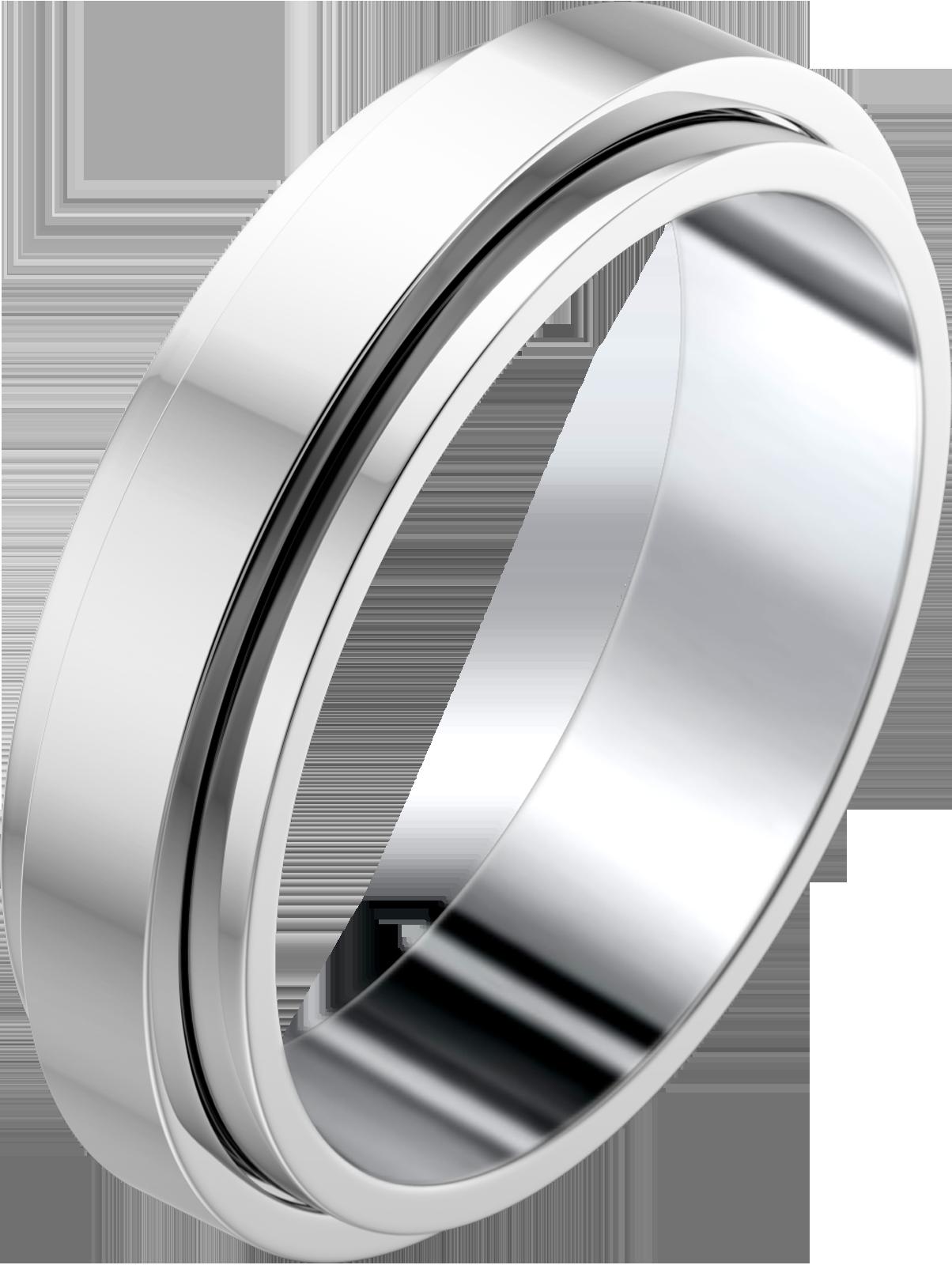 Wedding ring G34PK700 in white gold. 1,600 Diamond