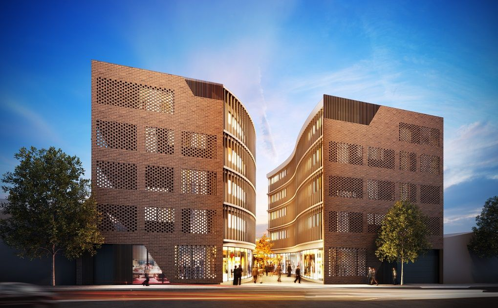 mixeduse development by sydesign at StPeters, in