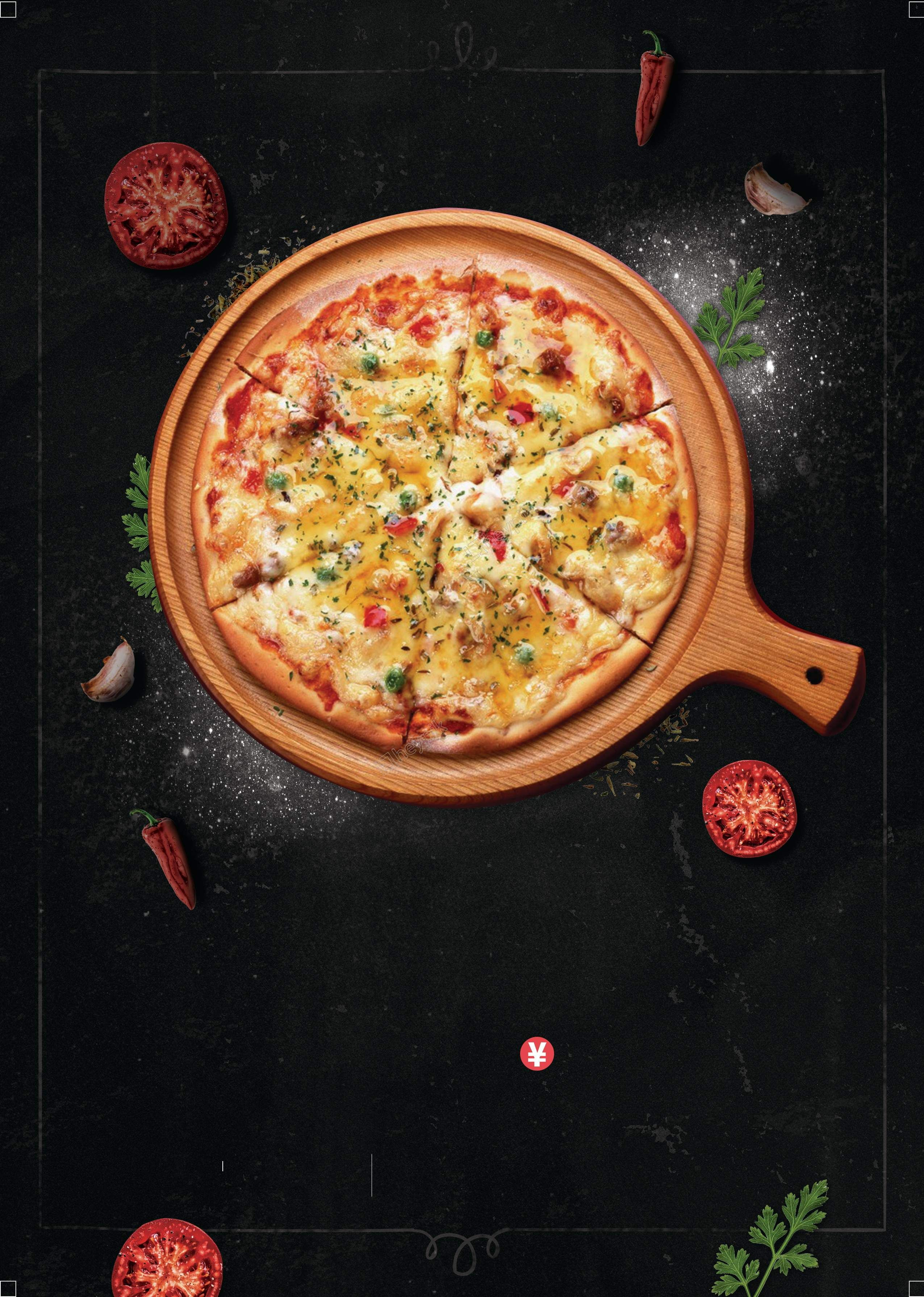 Wallpaper Food Cooking Grill Vegetables Peppers: Advertising Background Food Pizza Vegetables Vector