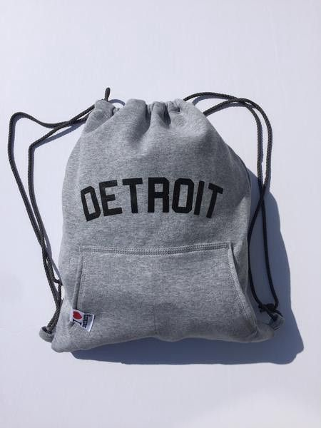 2086fa28e Ink Detroit Detroit Sweatshirt Drawstring Backpack | Products ...