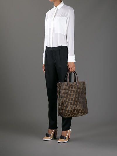 73ff5fffde6 FENDI - Zucca shopper tote #fendi #fendibags #fenditotes #fendizucca #bags  www.woman.jofre.eu