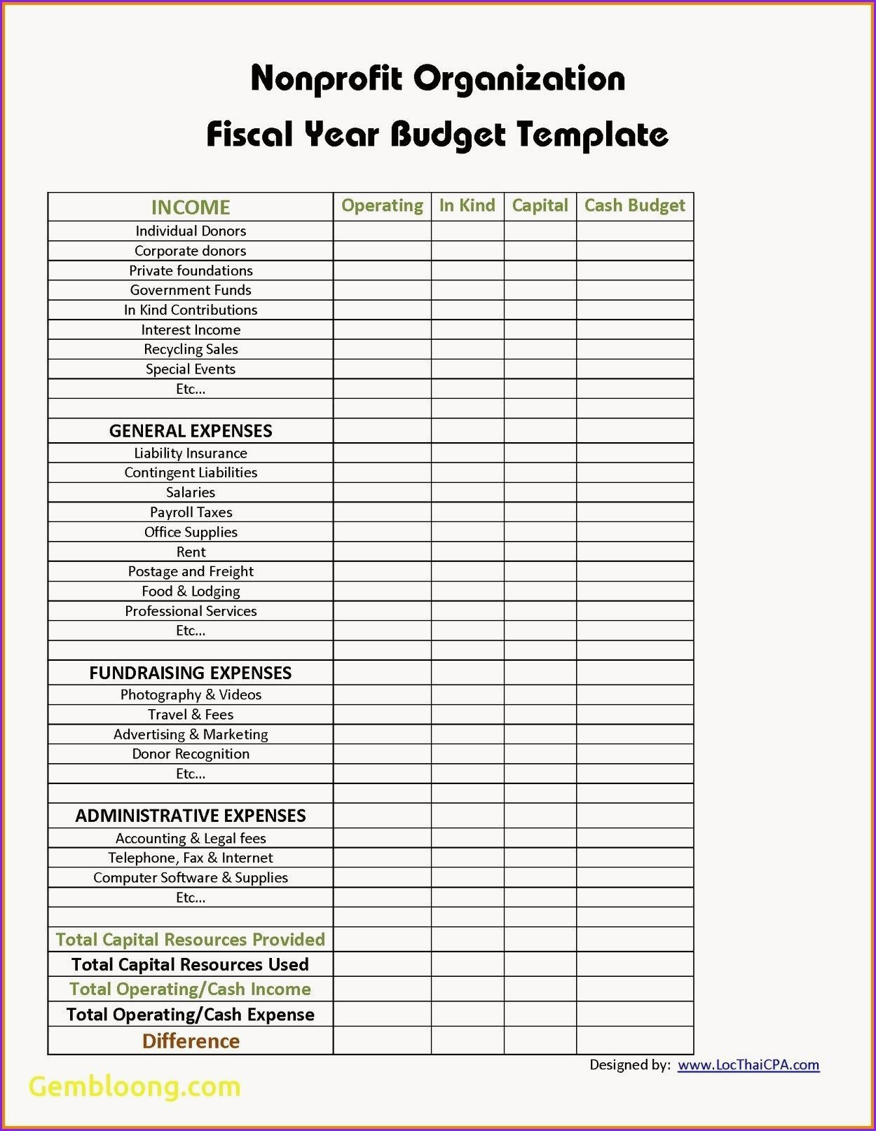 Awesome Renovation Budget Template
