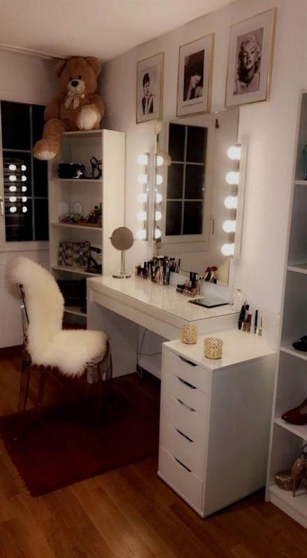 43 Ideas Makeup Room Ideas Elegant images