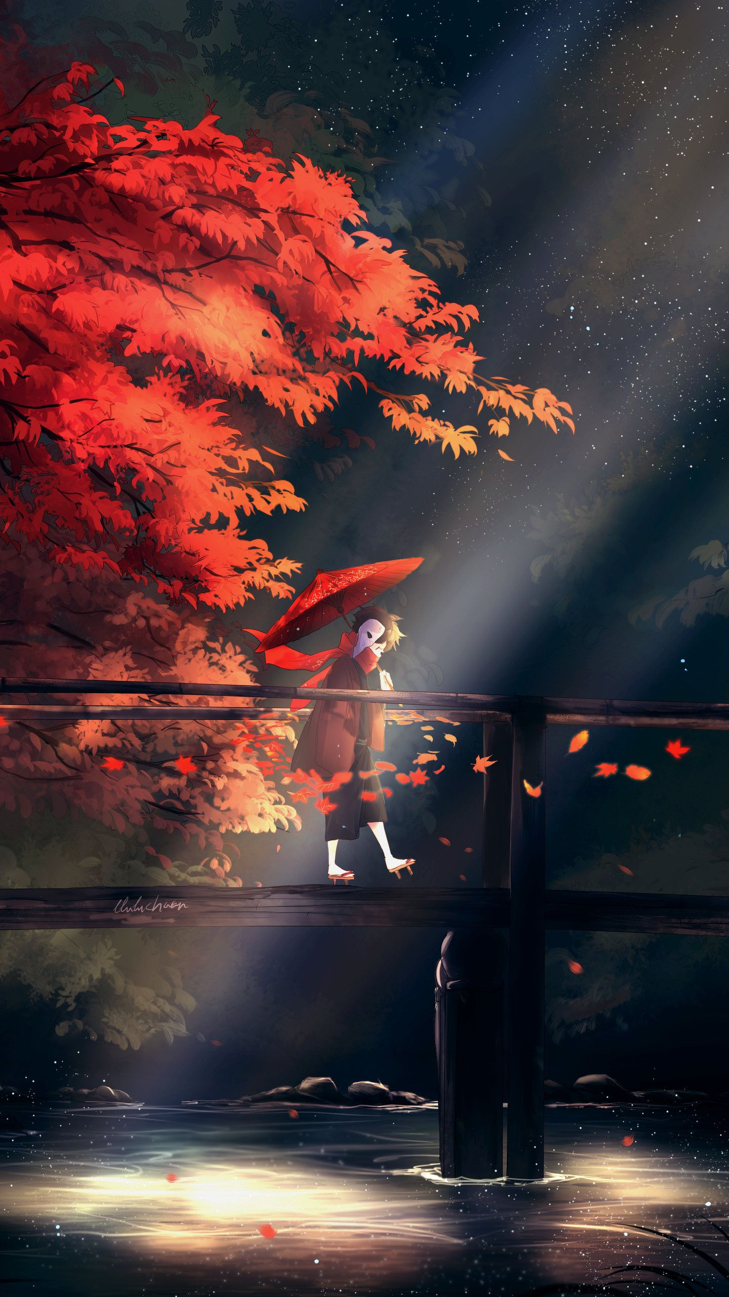 Fall Art Hd Artist Wallpapers Photos And Pictures Id 44979 Phong Cảnh Anime Nghệ Thuật Anime