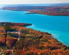 Colortour My North Mi Torch Lake Lake Michigan Travel