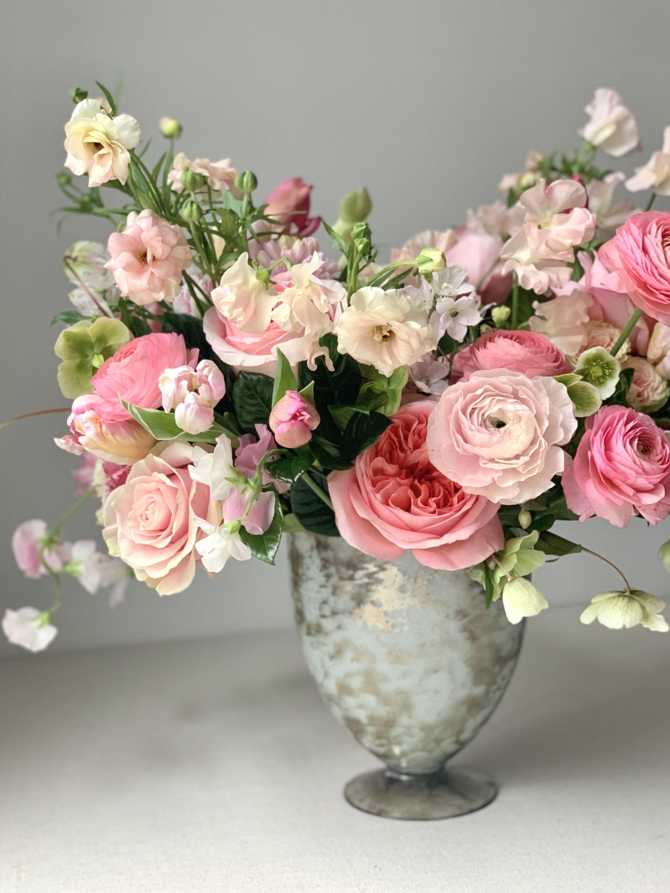 Pretty In Pink In 2020 Pink Flower Arrangements Beautiful Flower Arrangements Order Flowers