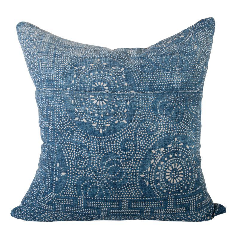 Handwoven Hmong Indigo Pillow - House of Cindy