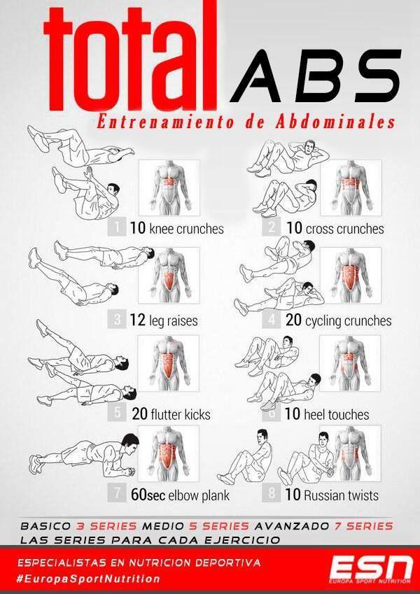 Rutinas de ejercicios para bajar de peso en gimnasio total