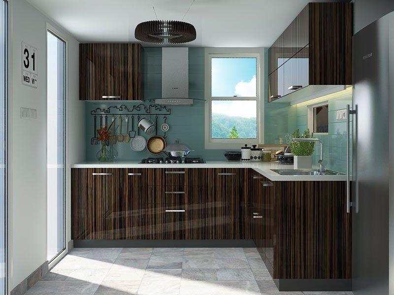 Best Basque L Shaped Modular Kitchen Designs L Shaped Modular 400 x 300