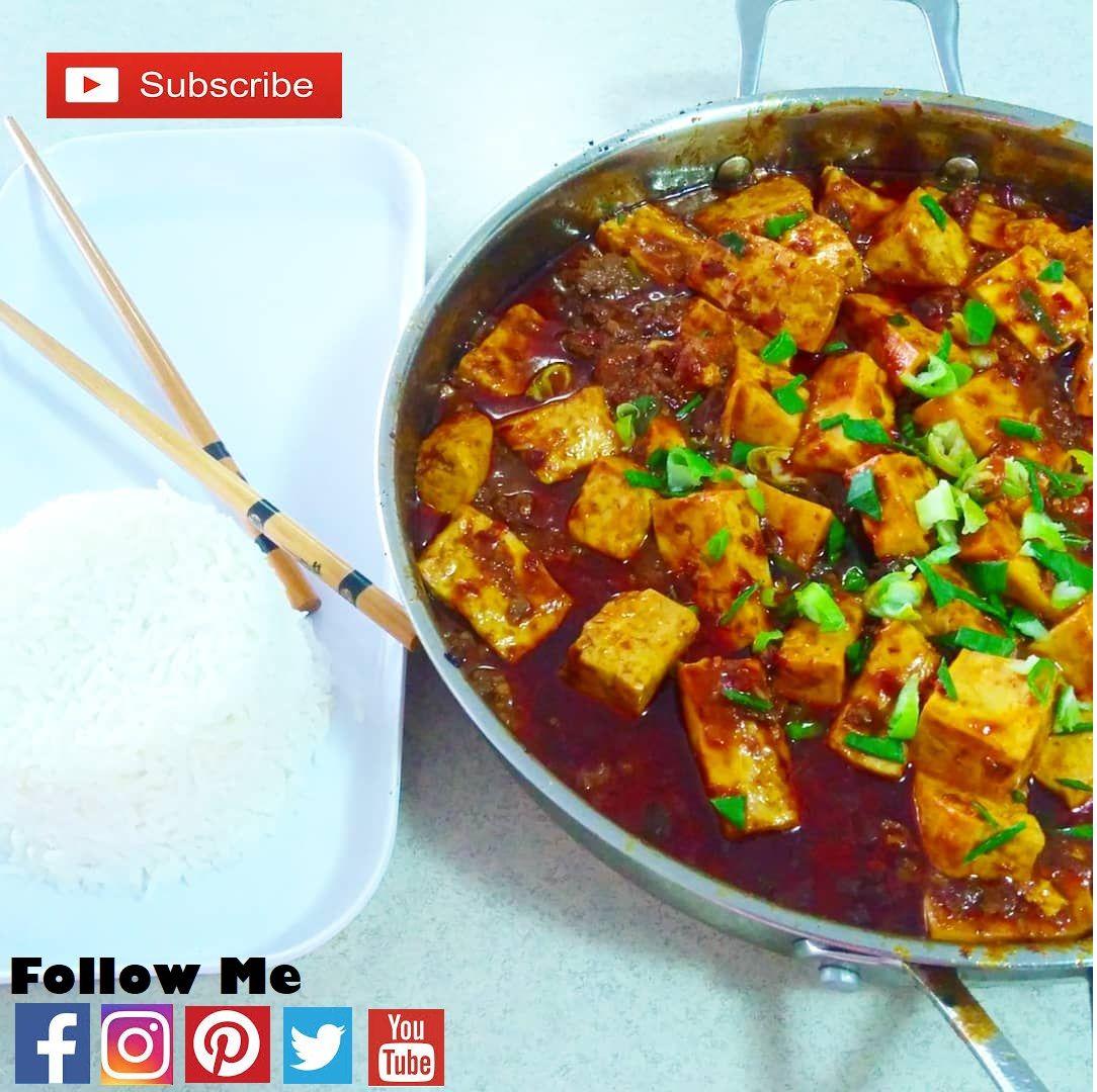 Resep Mapo Tahu Ala Chinese Food Makanan Resep Tahu Resep Masakan Indonesia