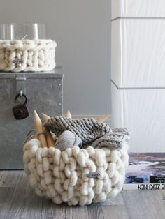Super chunky knits