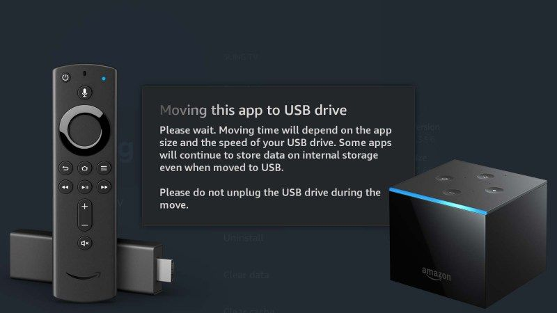 How To Add External Usb Otg Storage And Move Apps On The Fire Tv Stick Lite Fire Tv Stick 3 And Fire Tv Cube Aftvnews Fire Tv Stick Tv Stick Fire Tv