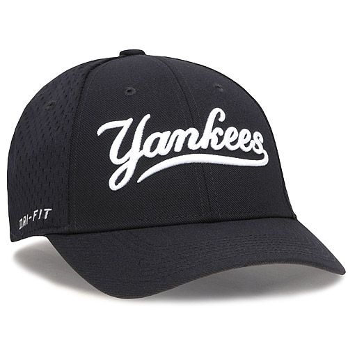 New York Yankees Dri-FIT Mesh Back Swoosh Flex Stretch Fit Cap by Nike -  MLB.com Shop daa21c58988