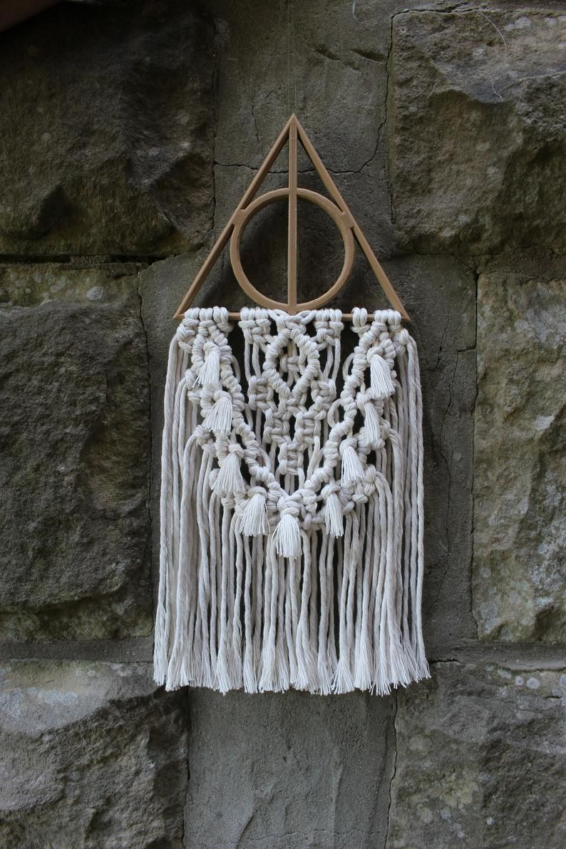 Magical Inspired Macrame Wall Hanging