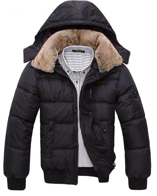 coat overcoat men shipping Outwear down Men's Free Winter wXnPkZN80O
