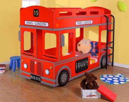 Camas para niños divertidas, modernas, originales y baratas Kids