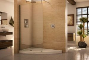 Shower Stall With Curtain Instead Of Door Http