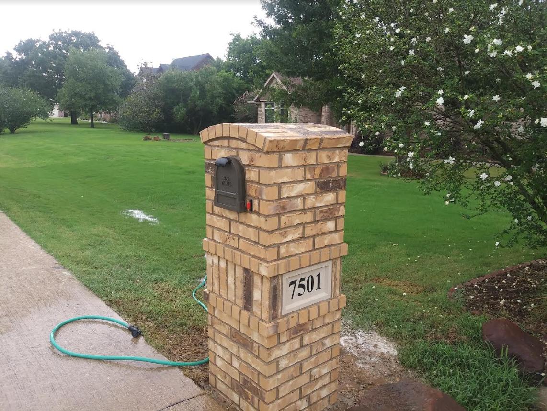 Brick Mailbox Ideas Brick Mailbox Designs Brick Mailbox