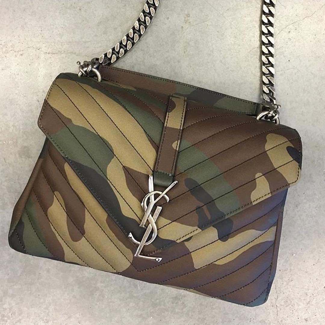 """a488c844389 camo saint laurent or nah  x  millionmamas""""   DESIGNER BAGS   Bags ..."""