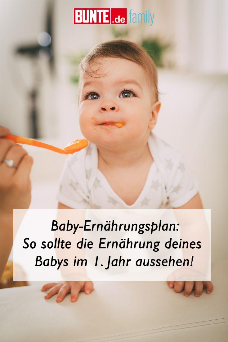 Baby Ernährungsplan: So sollte die Ernährung deines Babys im 1. Jahr aussehen – Baby