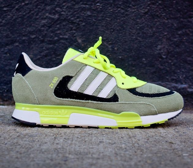 Mens Blue Yellow Casual Favourite Adidas Zx850 Running Breathable Deep Shoes