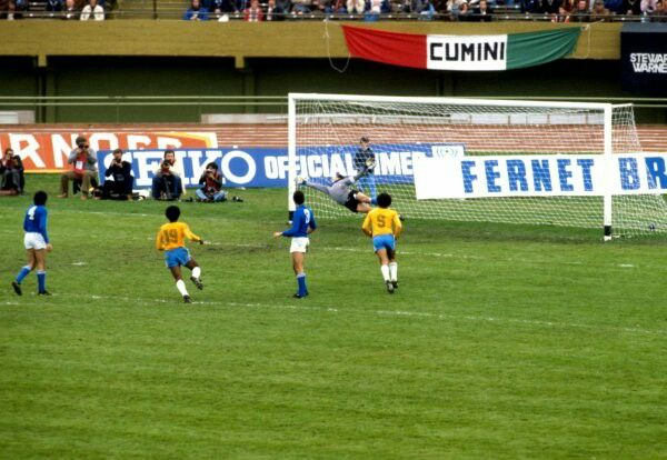 Italy 1 Brazil 2 in 1978 in Buenos Aires. Nelinho scored with a ...