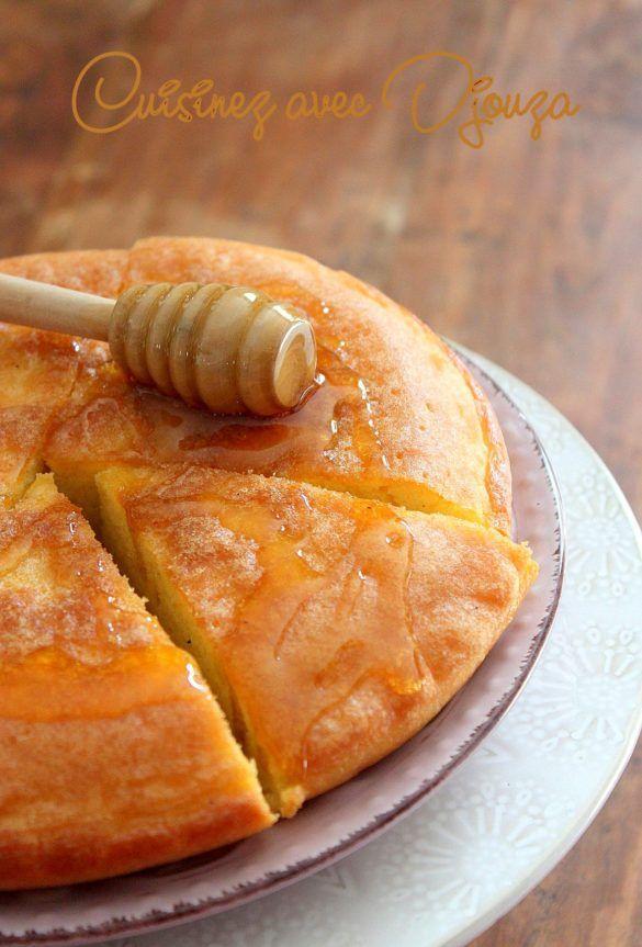 Gateau kabyle facile aux oeufs traditionnel, Mchawcha ...