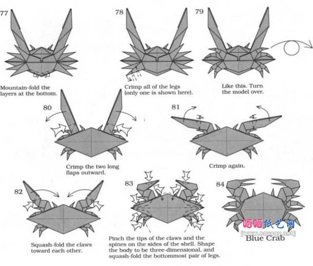 advanced origami instructions http www ikuzoorigami com advanced rh pinterest com Origami Steps Origami Steps