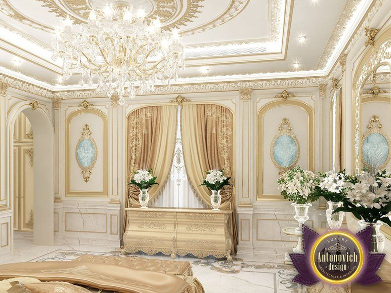 Cozy Bedroom Interior Design Of Luxury Antonovich Design Katrina