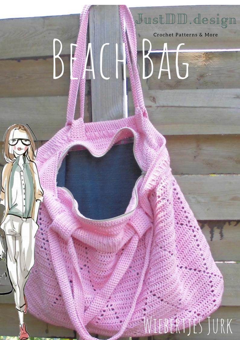 Dds Beach Bag Is Het Vervolg Op De Wiebertjes Jurk Haken Jullie