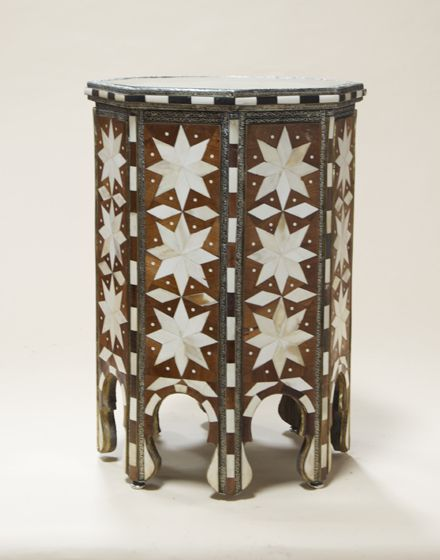 Najmay Starred Side Table Moroccan Side Table Moroccan Table Decorative Boxes