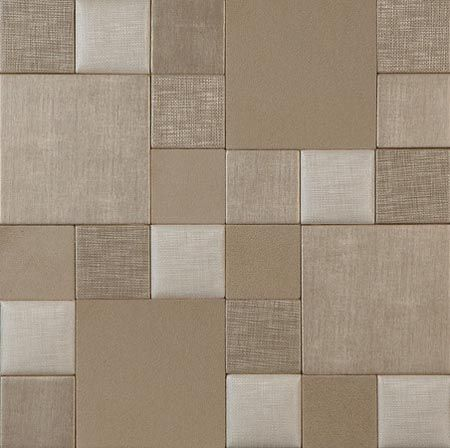 Muse nappatile collection nappatile faux leather wall - Faux carrelage mural ...