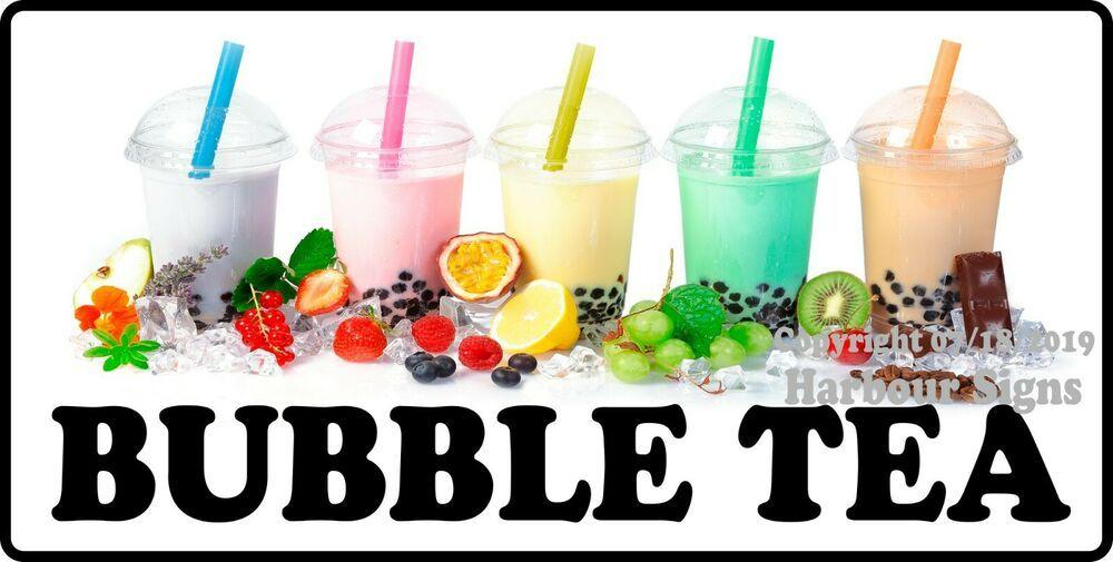 "Iced Tea Decal 10/"" Drink Concession Restaurant Food Truck Vinyl Menu Sticker"