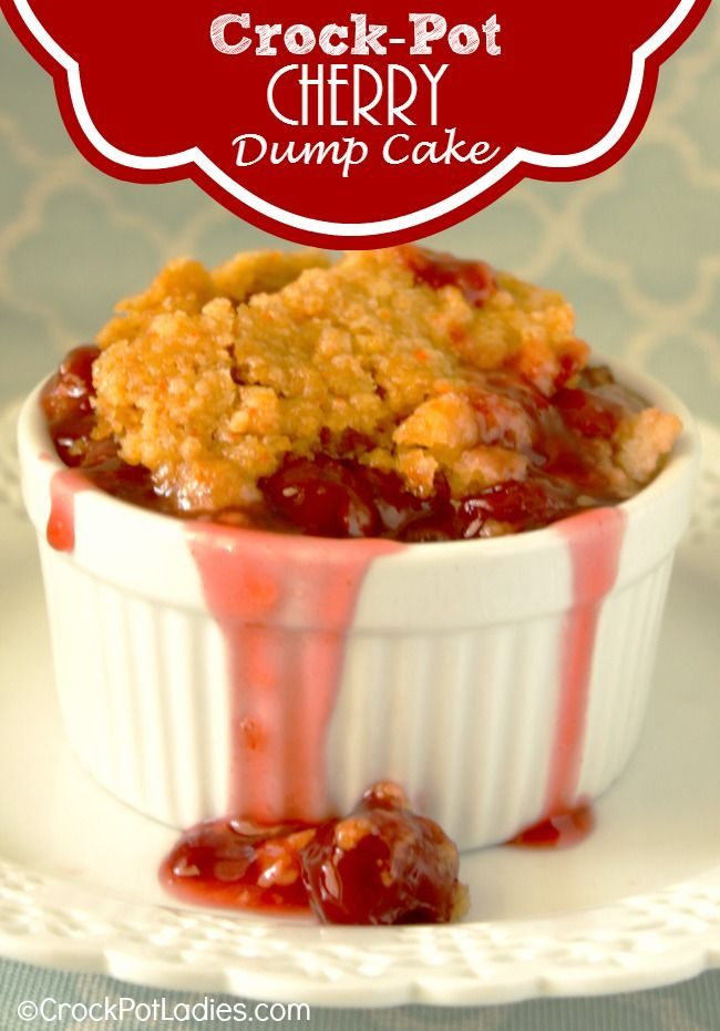 Crock Pot Cherry Dump Cake Recipe Best Of Crock Pot